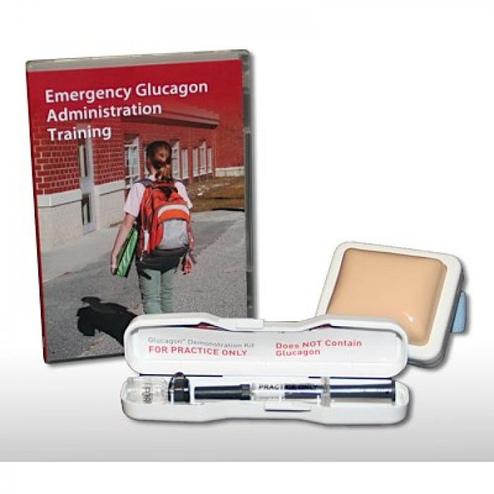 Emergency Glucagon Administration Training Kit, Style