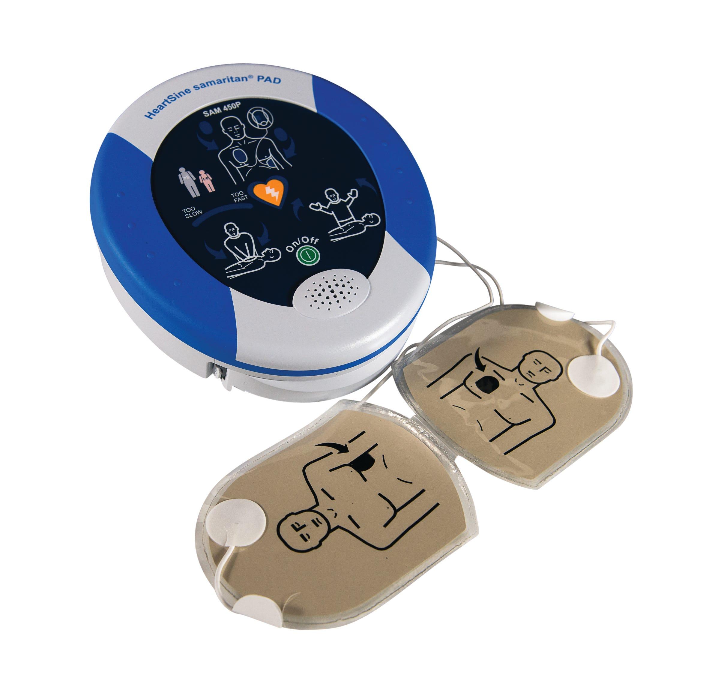 Heartsine Samaritan Pads and Batteries