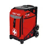 18259d34fb17 MobileAid Hi-Visibility EASY-ROLL First Aid Cart  Empty