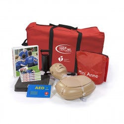 American Heart Association CPR & First Aid in Youth Sports Training Kit