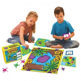 Hopping Frogs Board Game