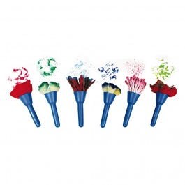 Fabric Brushes, Set of 6
