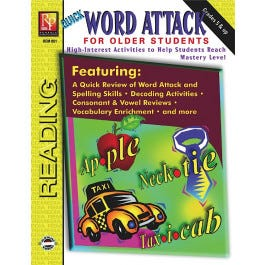 Quick Word Attack for Older Students