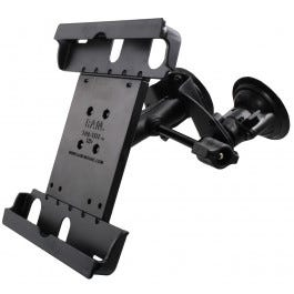 Tabletop Suction Mount with Adjustable iPad Cradle