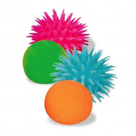 Neon Inside Out Balls, Set of 4