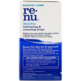 Rewetting Drops for Contact lens, .27oz