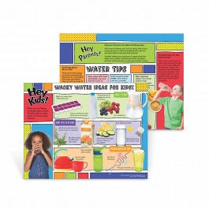 Wacky Water Ideas for Kids Handouts