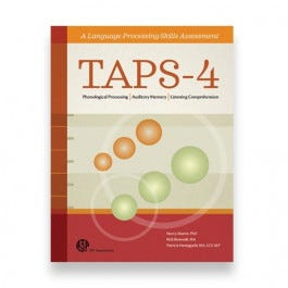 TAPS-4: Test of Auditory Processing Skills