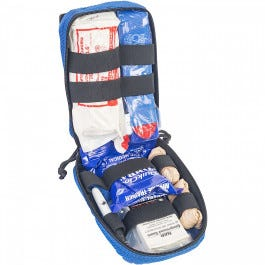 Public Access Bleeding Control Kit Trainer - Blue, Advanced