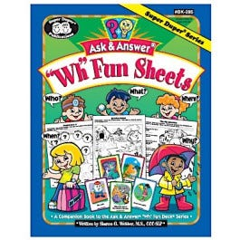Ask & Answer WH Fun Sheets Book