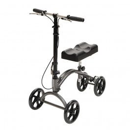Steerable Knee Walker with Channel Pad