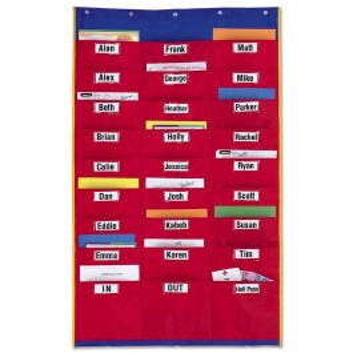 Organization Station Pocket Chart