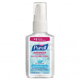 Purell Athletic Hand Sanitzers and Soaps