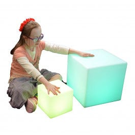 Color Changing LED Cubes