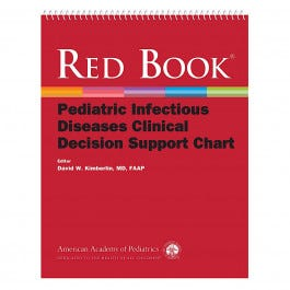 Red Book Pediatric Infectious Disease Chart