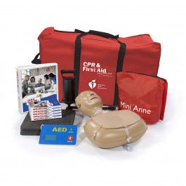 American Heart Association CPR & First Aid Anywhere Training Kit
