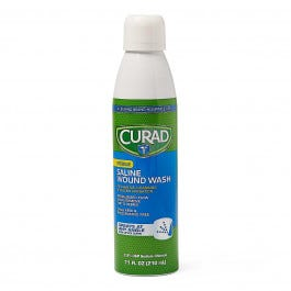 Curad Saline Wound Wash Spray, 7.1 oz.