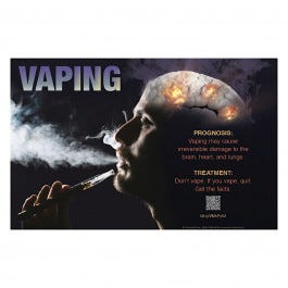 Vaping Prognosis and Treatment Poster