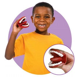 Mini Mouth Finger Puppet