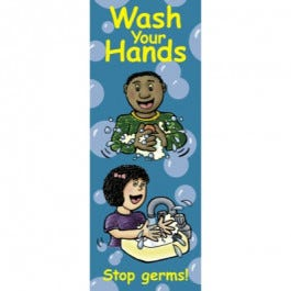 Wash Your Hands: Stop Germs! Pamphlet