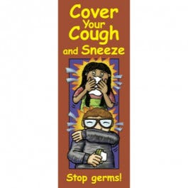 Cover Your Cough and Sneeze: Stop Germs! Pamphlet
