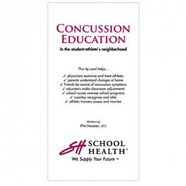 School Health Concussion Education: In the student-athlete's neighborhood