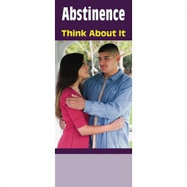 Abstinence: Think About It Educational Pamphlets