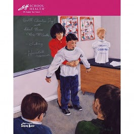 School Health Catalog Cover Poster Series - 1998