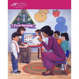 School Health Catalog Cover Poster Series - 1996