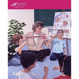School Health Catalog Cover Poster Series - 1999