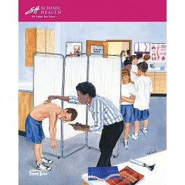 School Health Catalog Cover Poster Series - 2002