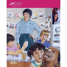 School Health Catalog Cover Poster Series - 2003