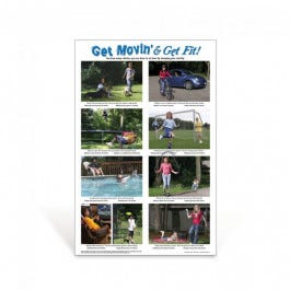 Get Moving Elementary Poster