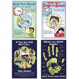 Germ Prevention Posters