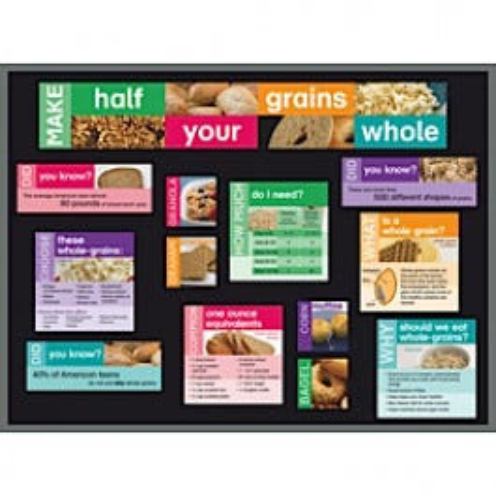 Grains Bulletin Board Kit