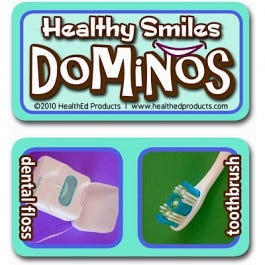 Healthy Smiles Tiles Dominos Game