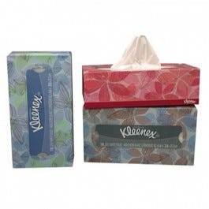 Kleenex Classic White 2 Ply Facial Tissue 150/Box