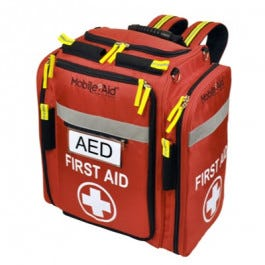 MobileAid AED and Supplies Backpack