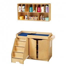 Tremendous Toddler Changing Table And Wall Mounted Storage Download Free Architecture Designs Embacsunscenecom