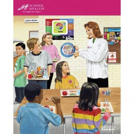 2012 School Health Catalog Cover Poster