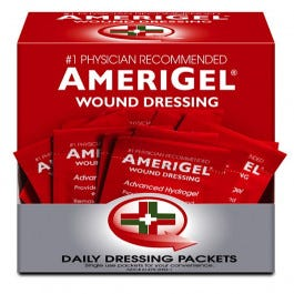 AmeriGel Wound Dressing Packets 30/box