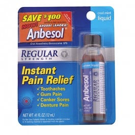 Anbesol Oral Anesthetic