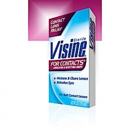 Visine for Contacts, 0.5 oz
