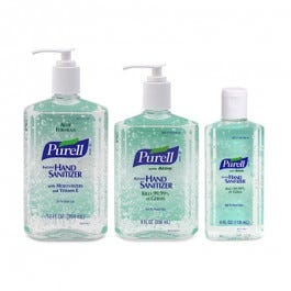 Purell Hand Sanitizer With Aloe 12 Oz