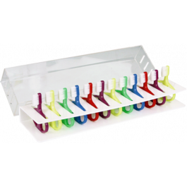 Infant Toothbrushes and Rack