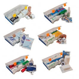 MobileAid Trauma First Aid Station Replacement Modules