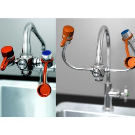 Faucet-Mounted Eyewash Systems