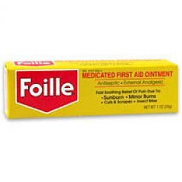 Foille Medicated First Aid Ointment, 1 oz.