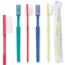 Pre-Pasted Disposable Toothbrushes