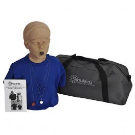 Adolescent Choking Manikin With Carry Bag
